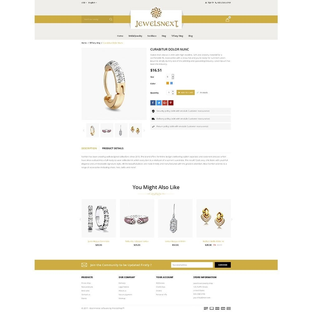theme - Bellezza & Gioielli - Jewelsnext Jewelry Shop - 5