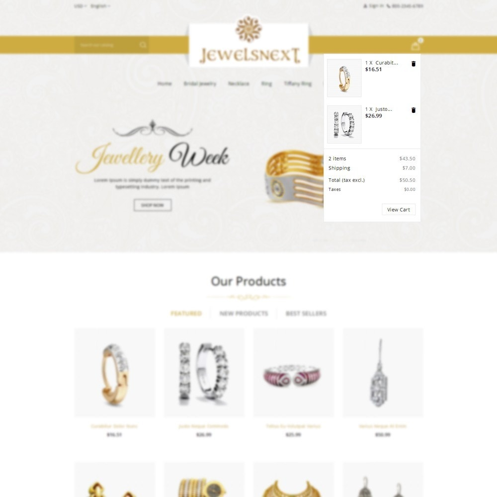 theme - Bellezza & Gioielli - Jewelsnext Jewelry Shop - 6