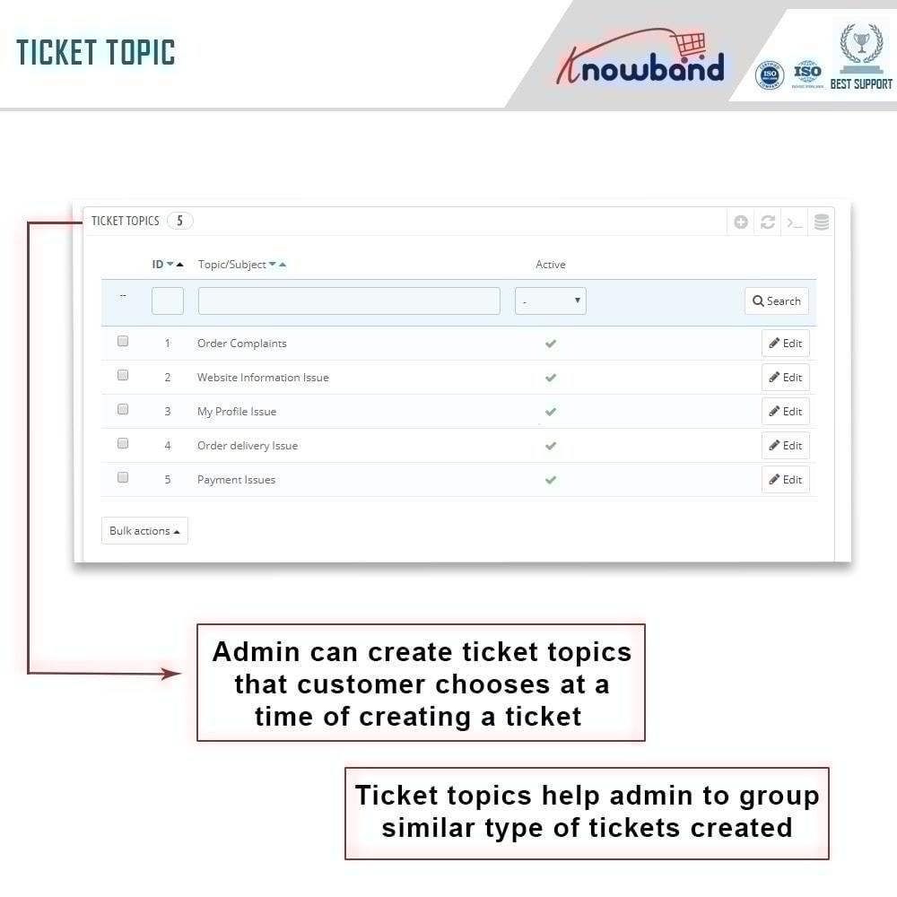 module - Customer Service - Deskoid Helpdesk - 7