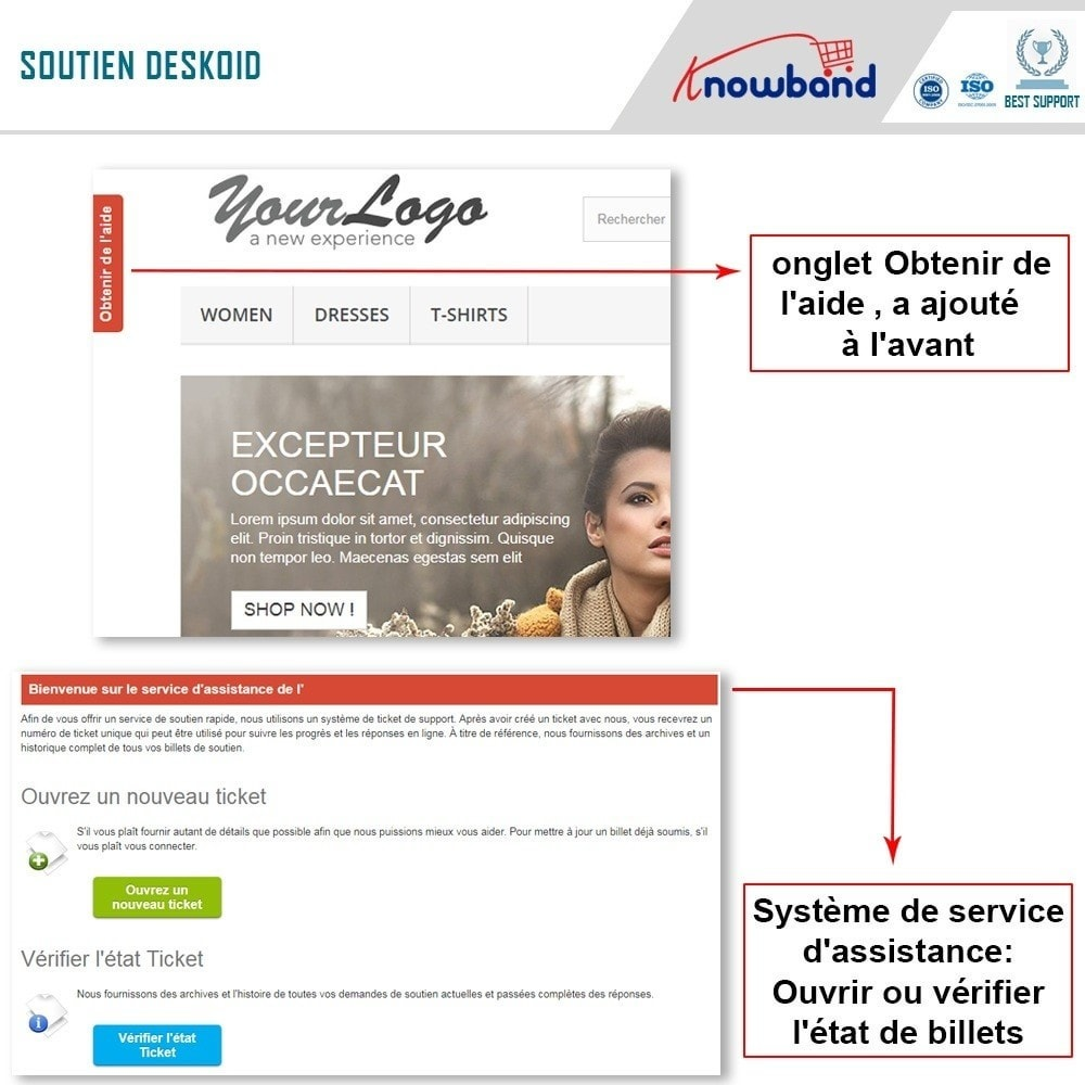 module - Service Client - Knowband - Centre d'assistance Deskoid - 2