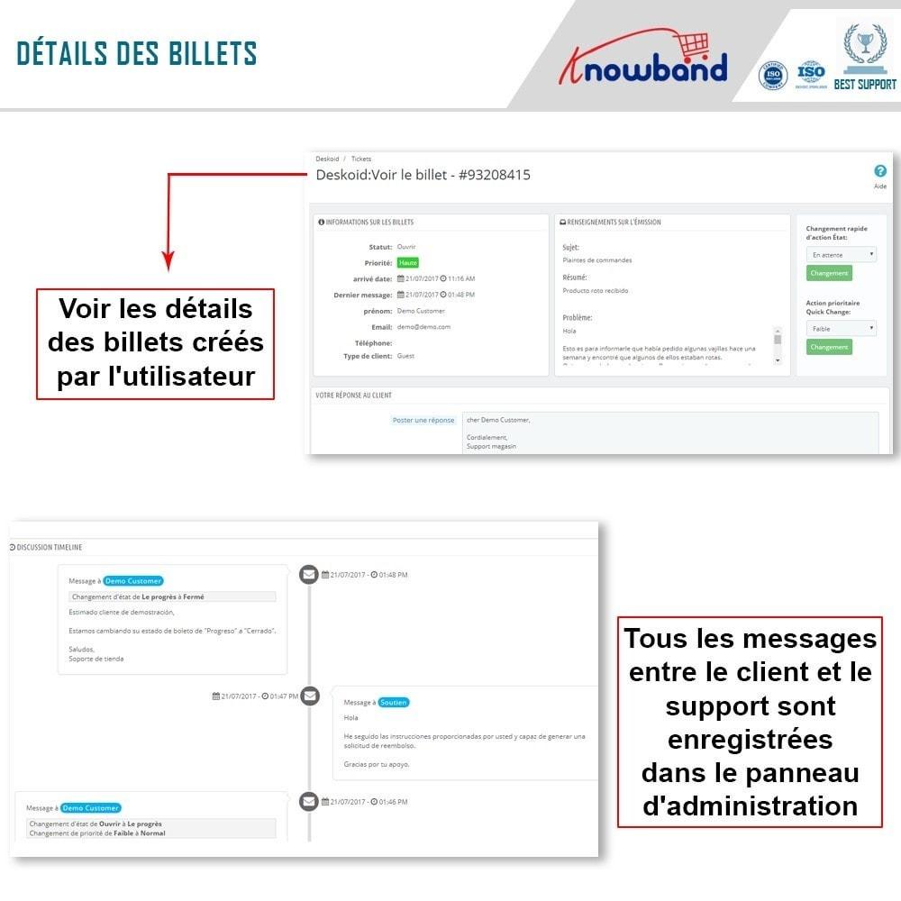 module - Service Client - Knowband - Centre d'assistance Deskoid - 5