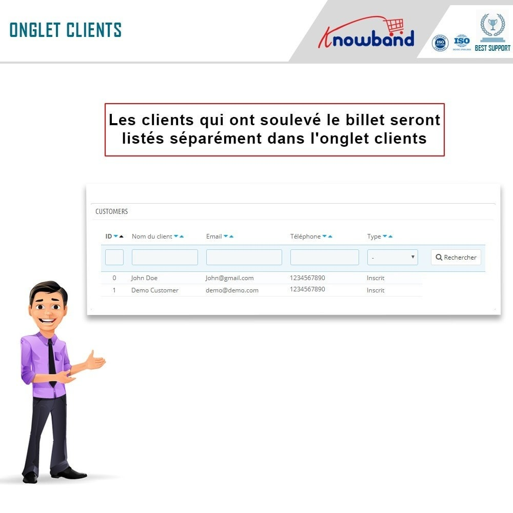 bundle - Service Client - Helpdesk Support Pack - Quality services to customers - 6