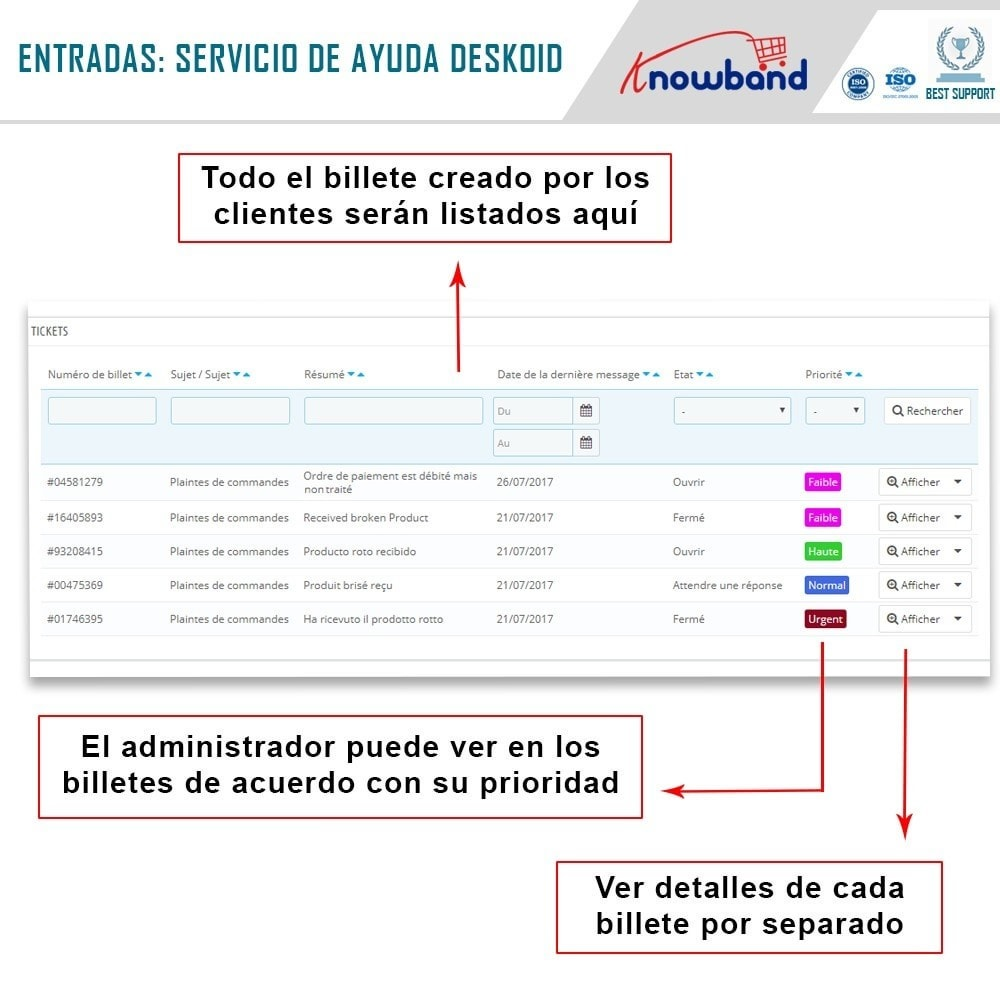 module - Servicio posventa - Servicio de asistencia Deskoid - 4