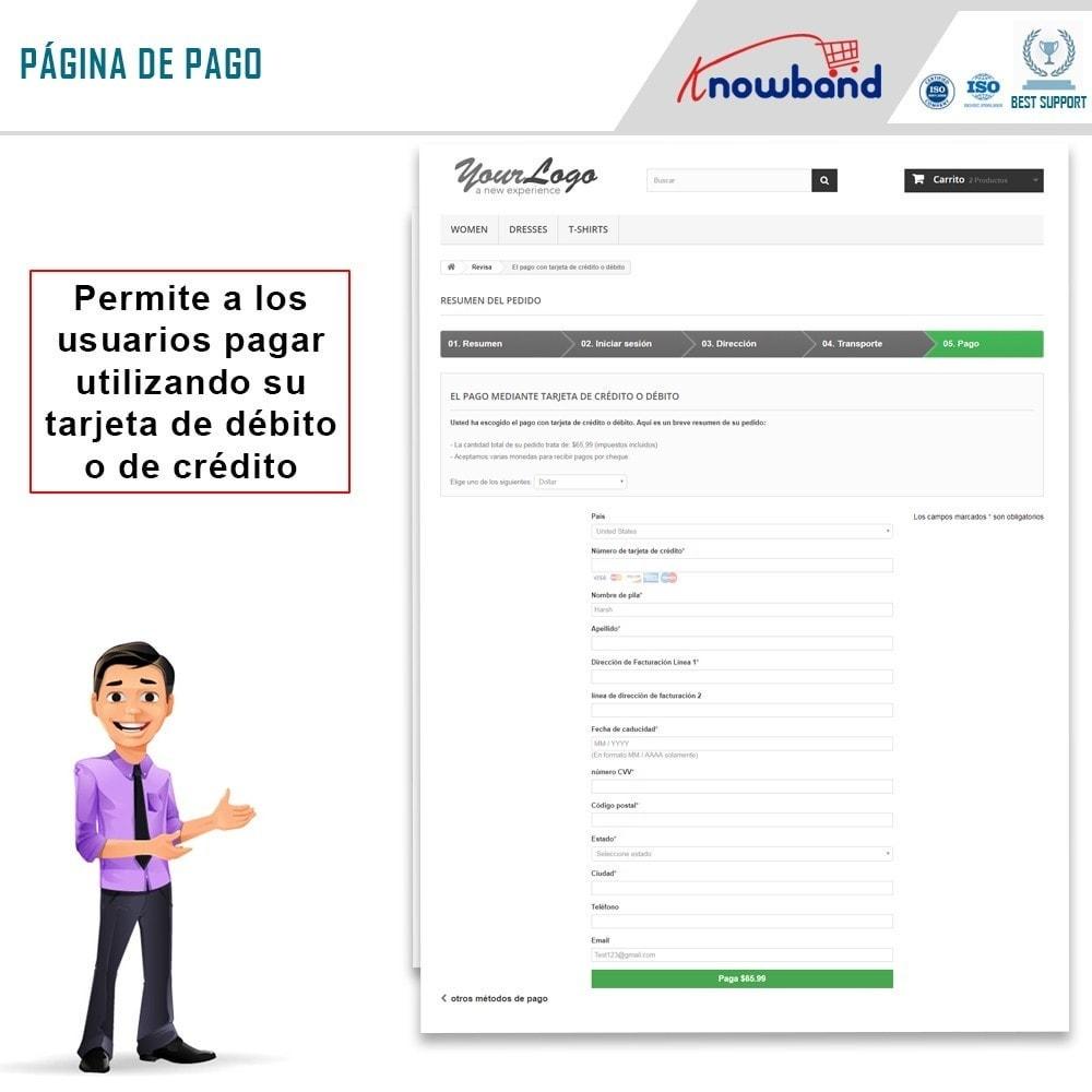 module - Pago con Tarjeta o Carteras digitales - Knowband - Pago Directo por PayPal - 4