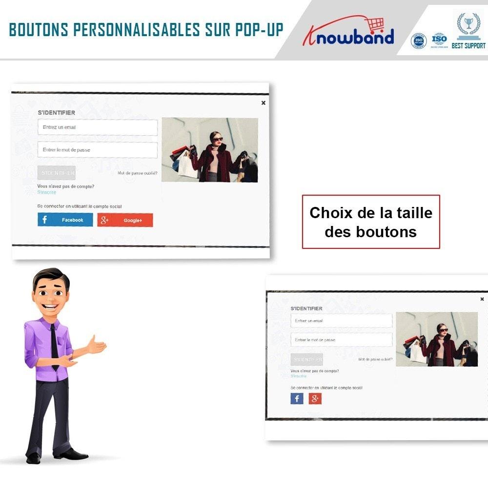 module - Boutons Login & Connect - Knowband - Popup de Connexion Rapide - 3