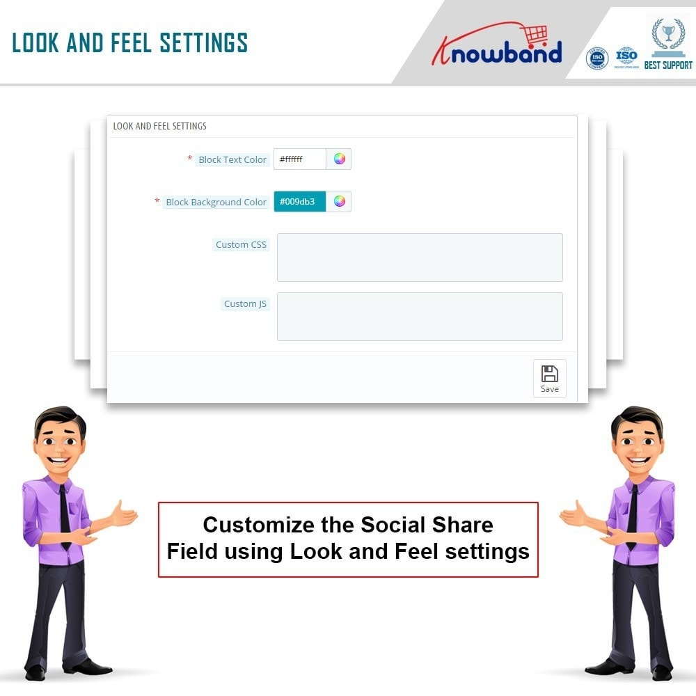 module - Share Buttons & Comments - Knowband - Order Social Sharing - 8