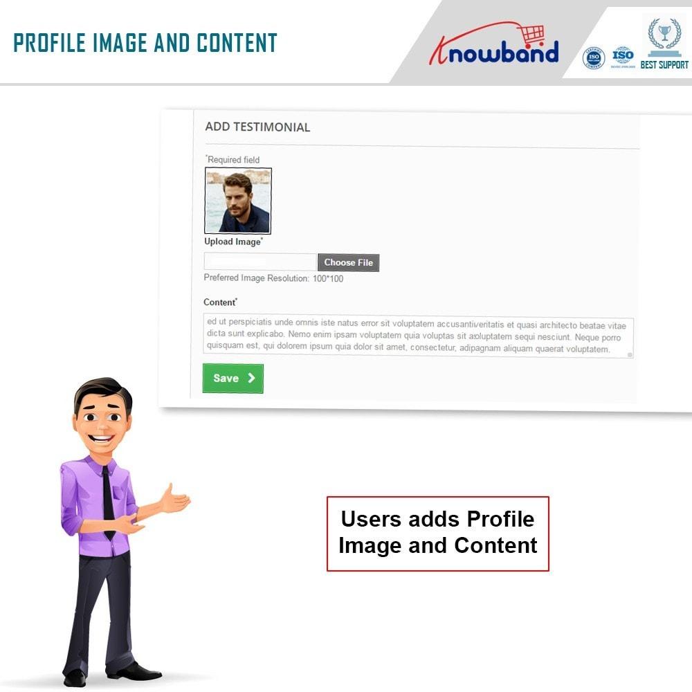 module - Kundenbewertungen - Knowband - Website Testimonial - 3