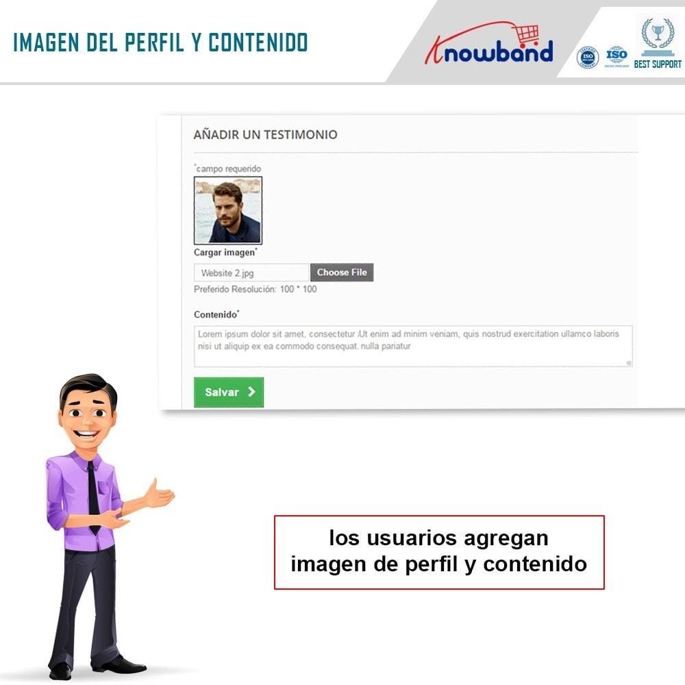 module - Comentarios de clientes - Knowband - Testimonios - 3