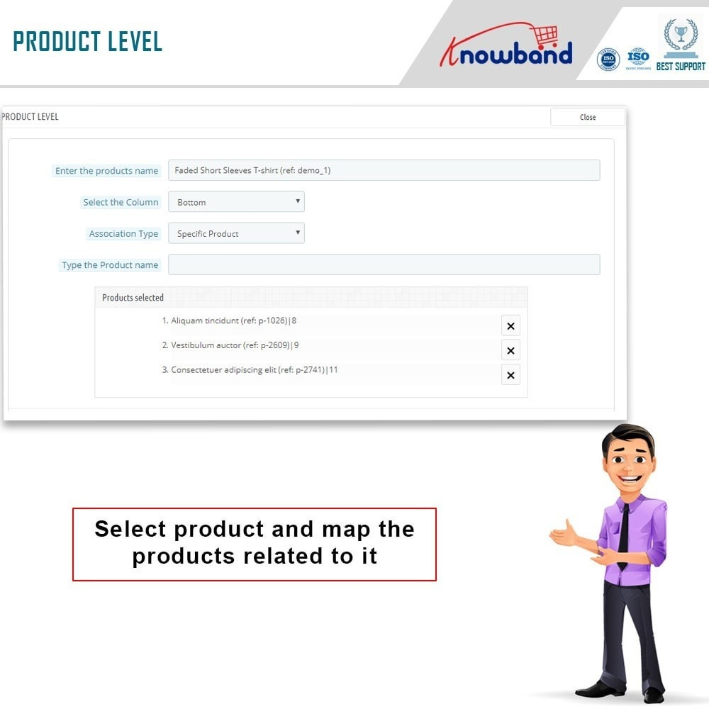 module - Cross-Selling & Produktbundles - Knowband - Automatic Related Products - 4
