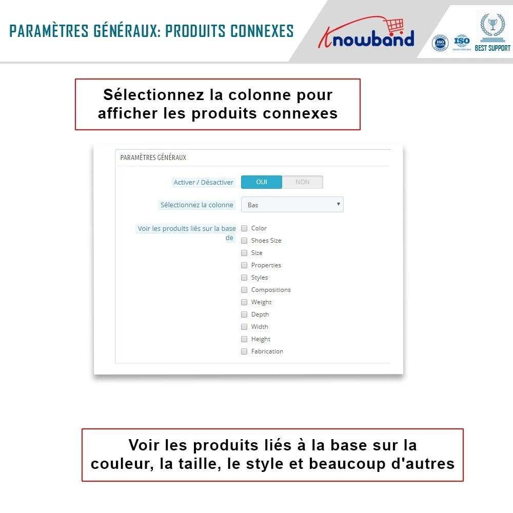module - Ventes croisées & Packs de produits - Knowband - Produits Similaires Automatiques - 3