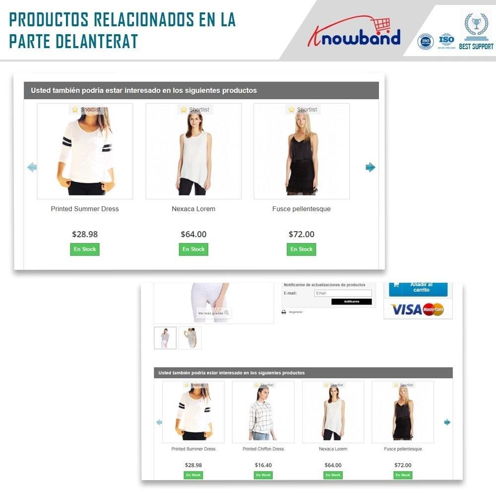 module - Ventas cruzadas y Packs de productos - Knowband - Productos Relacionados Automáticos - 2