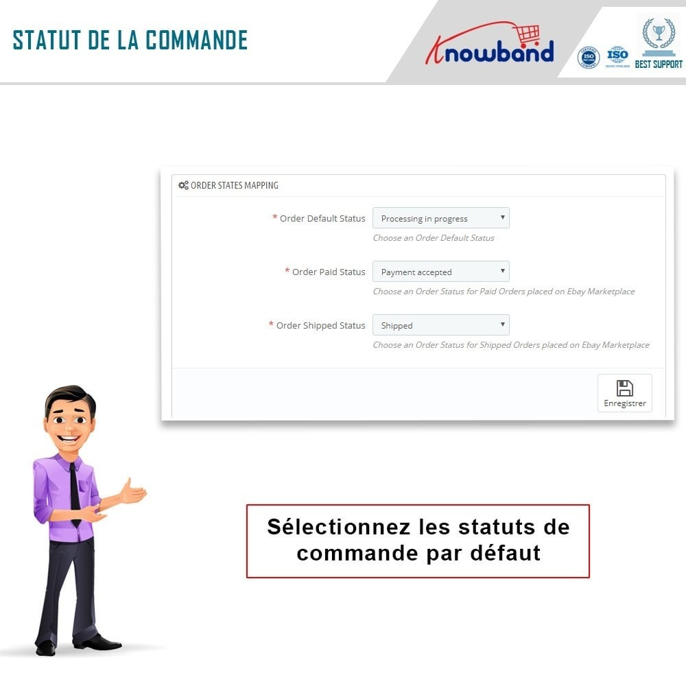 module - Marketplaces - Knowband- Intégration de la Marketplace Ebay - 5