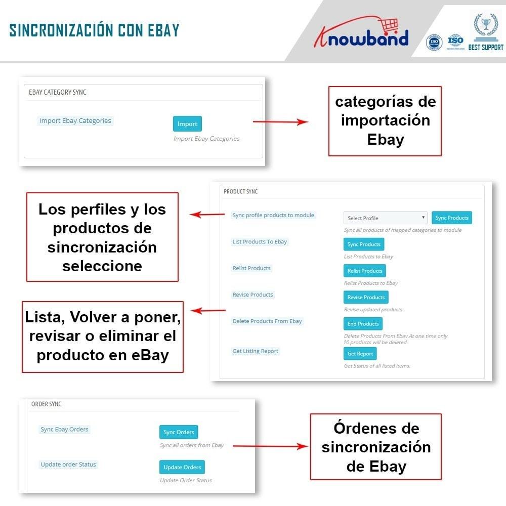 module - Marketplaces - Knowband - Integración Ebay Marketplace - 7