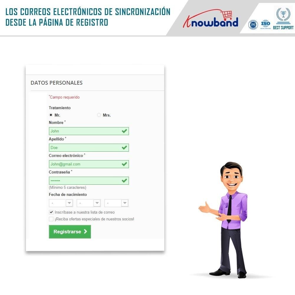 module - Newsletter y SMS - Knowband - Integrador Mailigen y MailChimp - 3