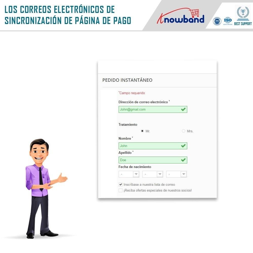 module - Newsletter y SMS - Knowband - Integrador Mailigen y MailChimp - 4