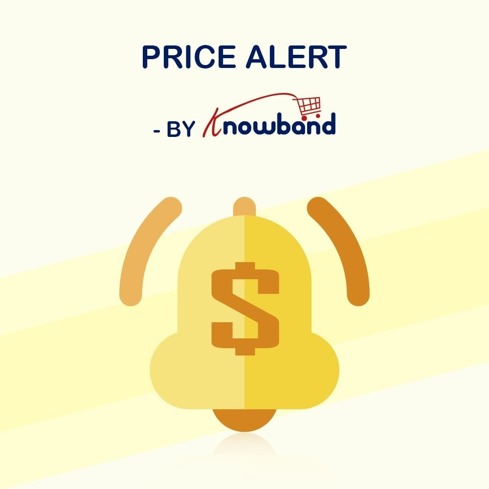 module - Preisverwaltung - Knowband - Price Alert - Notify customers - 1