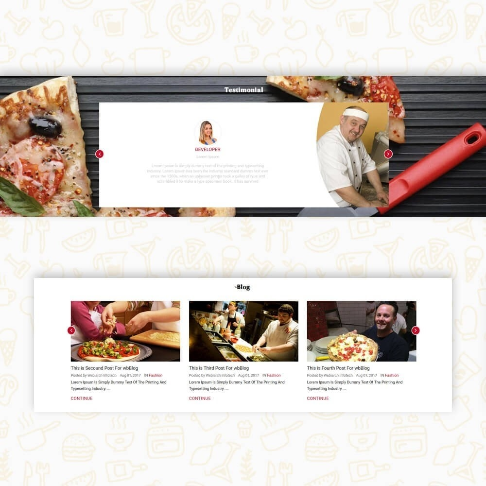 theme - Food & Restaurant - Pizza House Store - 7