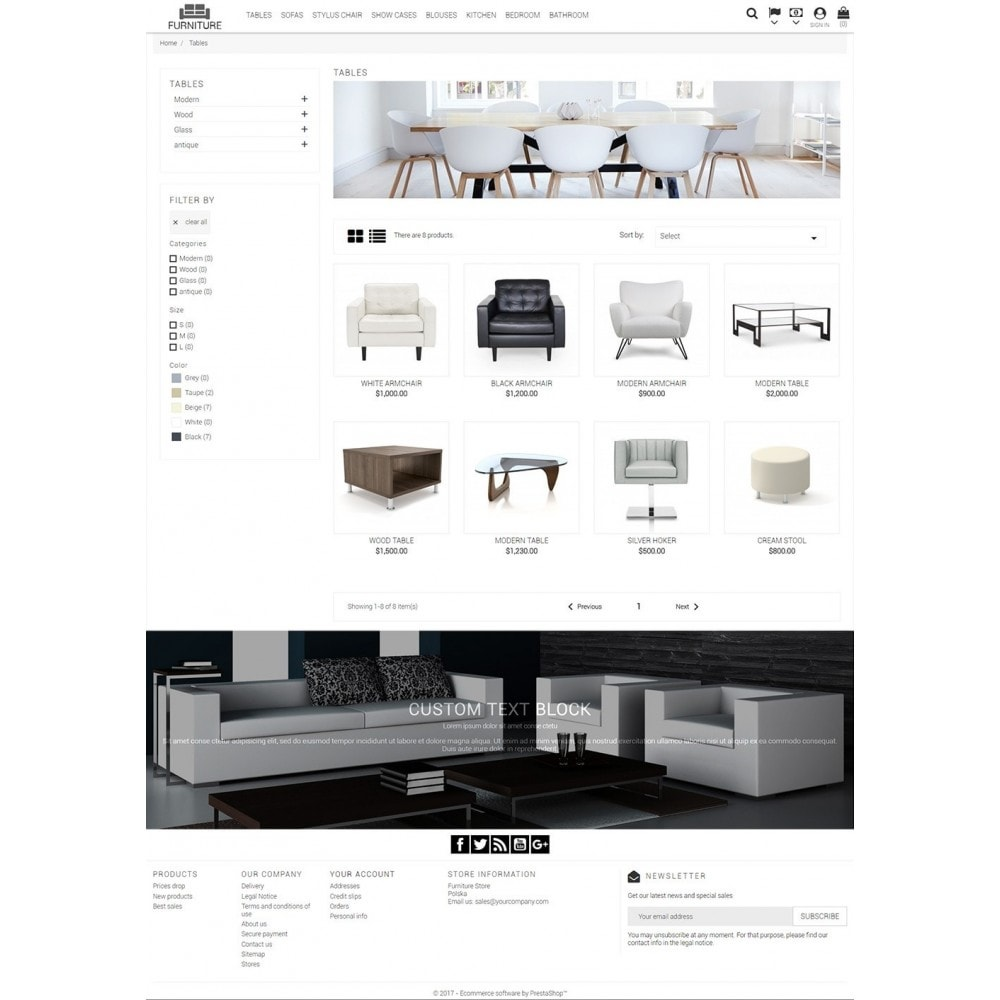 theme - Casa & Jardins - Universal Furniture - 3