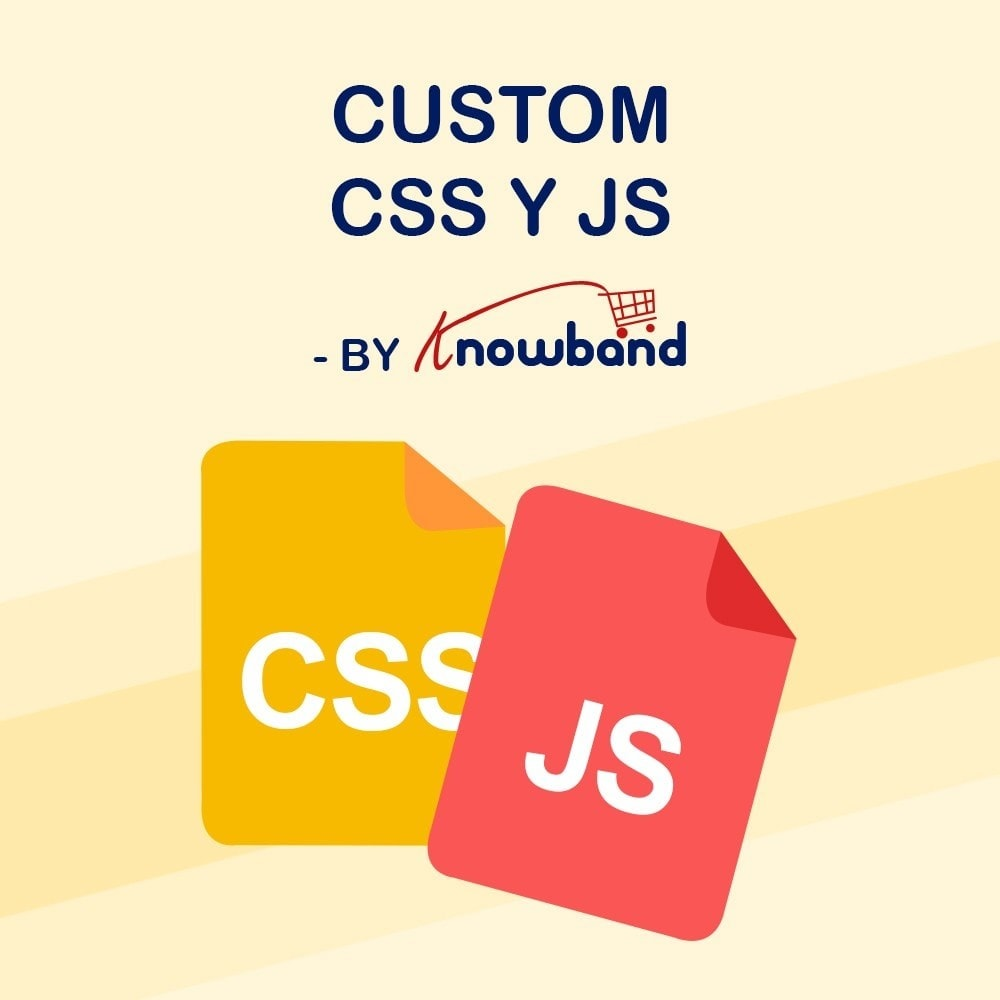 module - Personalización de la página - Knowband - CSS y JS personalizados - 1