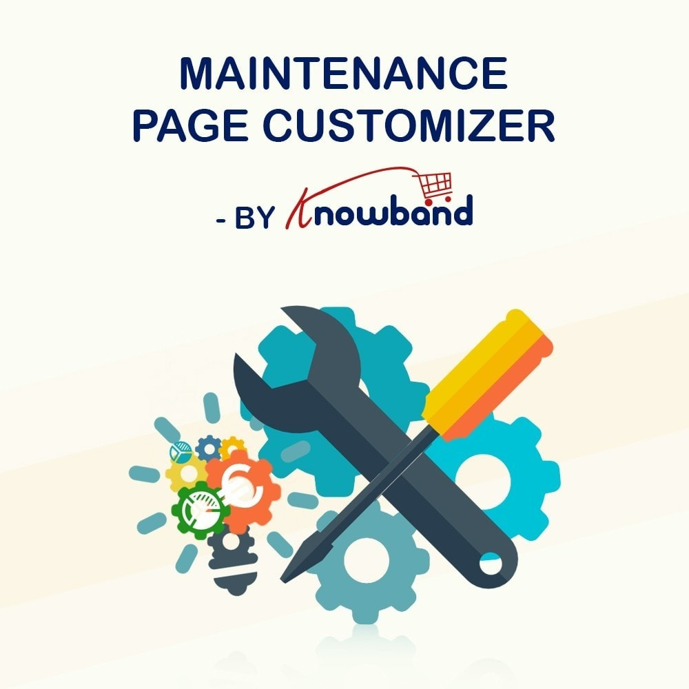 module - Адаптация страницы - Knowband - Maintenance Page Customizer - 1