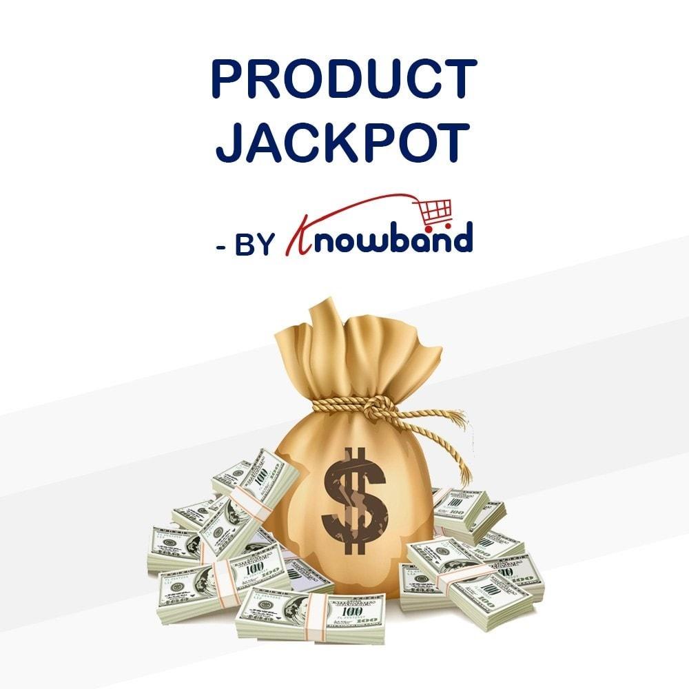 module - Акции и Подарки - Knowband - Product Jackpot - 1