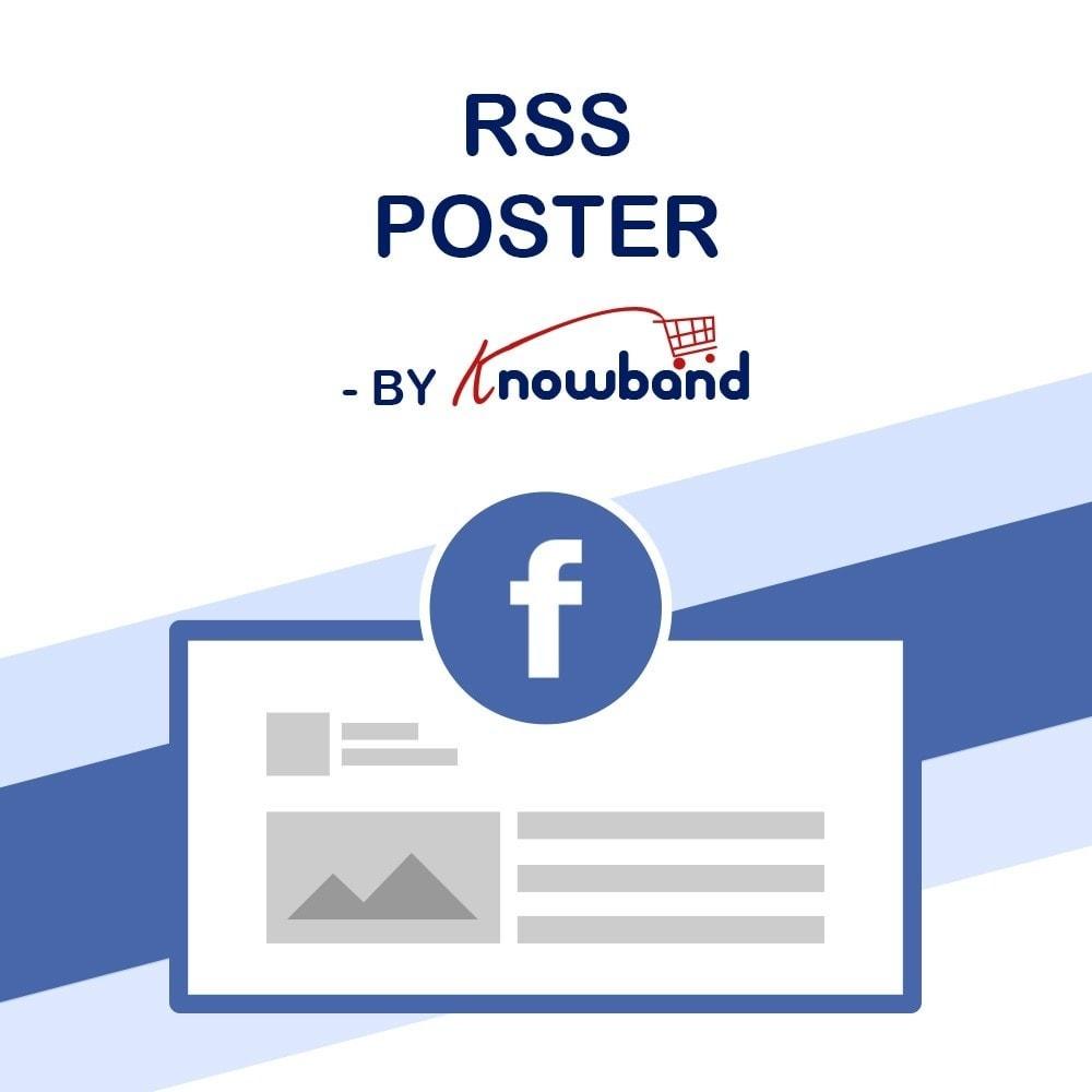 module - Widgets réseaux sociaux - Knowband - Flux de Posts - 1