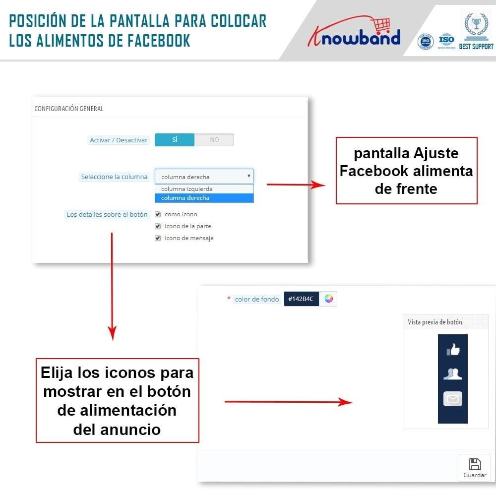 module - Widgets para redes sociales - Knowband - Publicaciones - 3