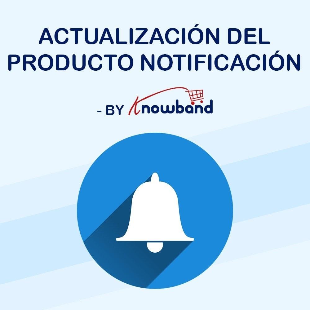 module - E-mails y Notificaciones - Knowband - Notificación de Actualización de Producto - 1