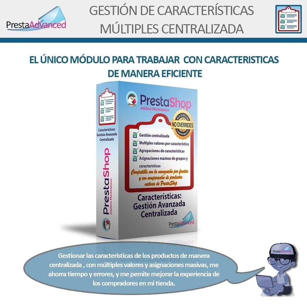 module - Edición Rápida y Masiva - Características: Gestión Avanzada Centralizada - 1
