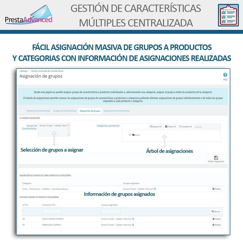 module - Edición Rápida y Masiva - Características: Gestión Avanzada Centralizada - 7