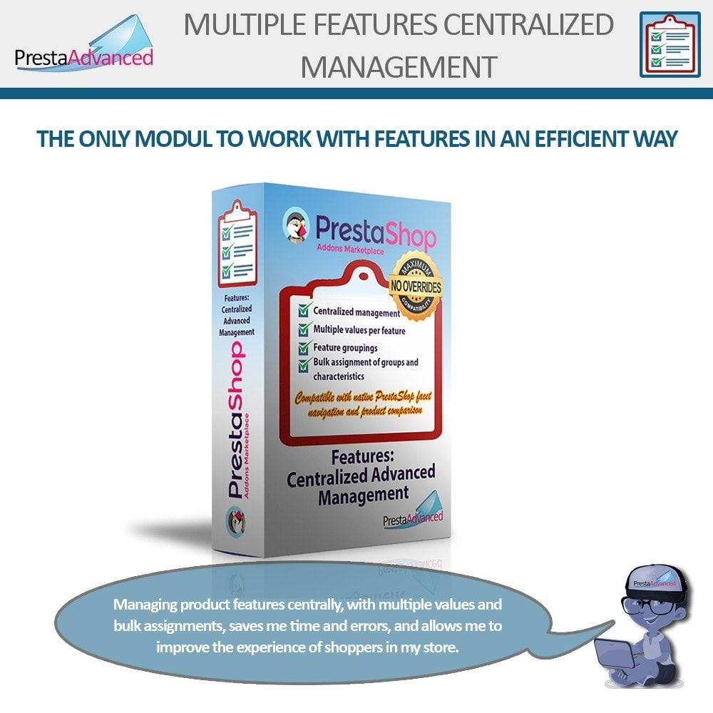 module - Fast & Mass Update - Features: Centralized Advanced Management - 1