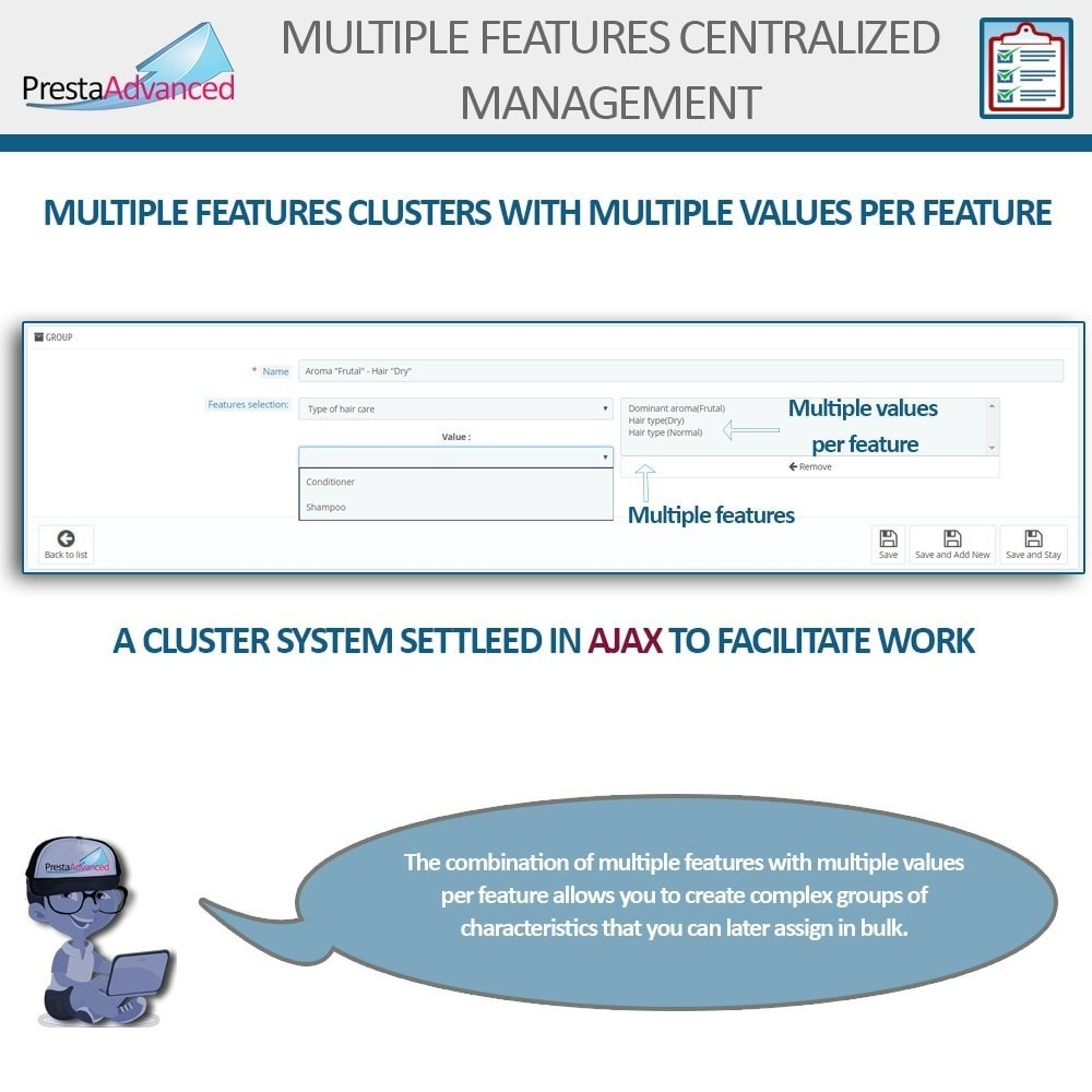 module - Modifica rapida & di massa - Features: Centralized Advanced Management - 6