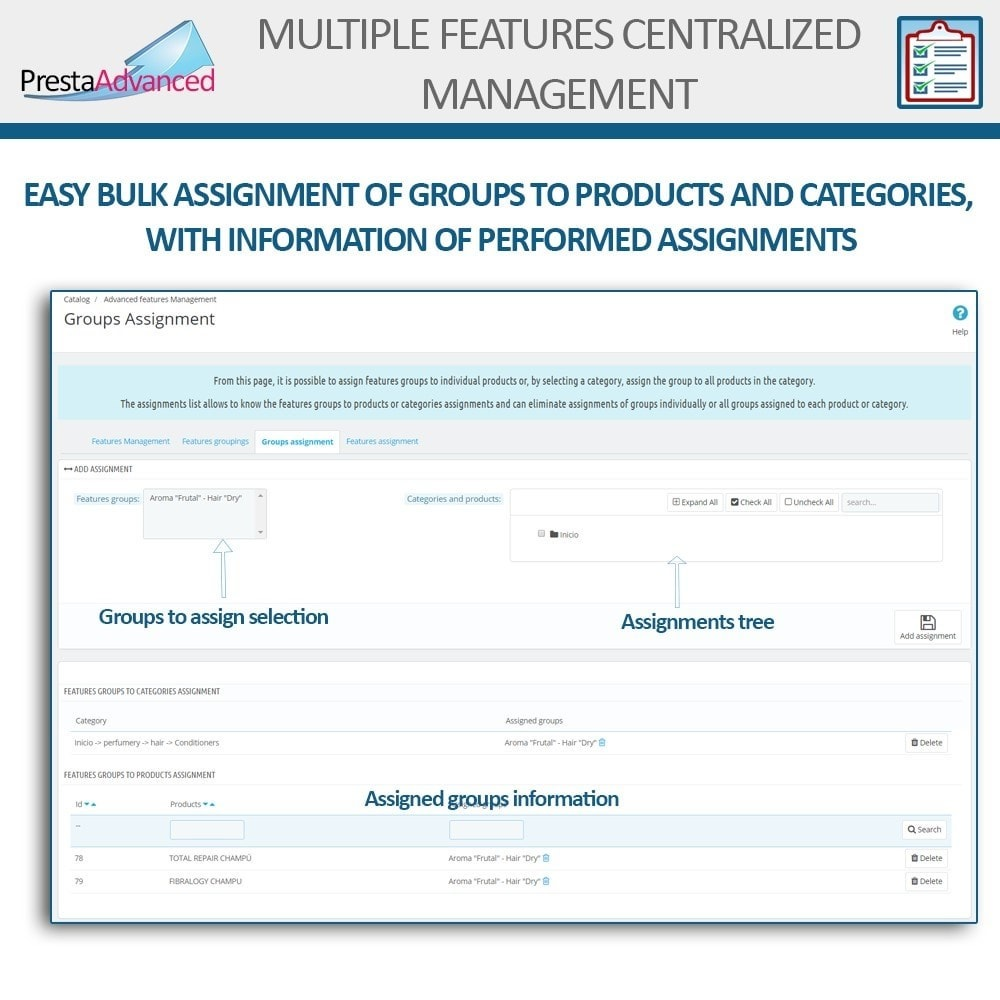 module - Fast & Mass Update - Features: Centralized Advanced Management - 7