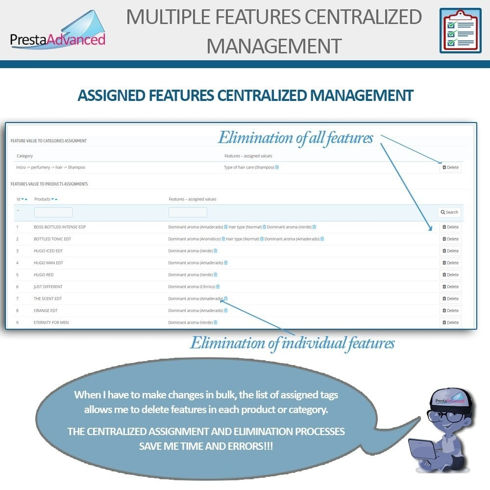 module - Snelle & seriematige bewerking - Features: Centralized Advanced Management - 10