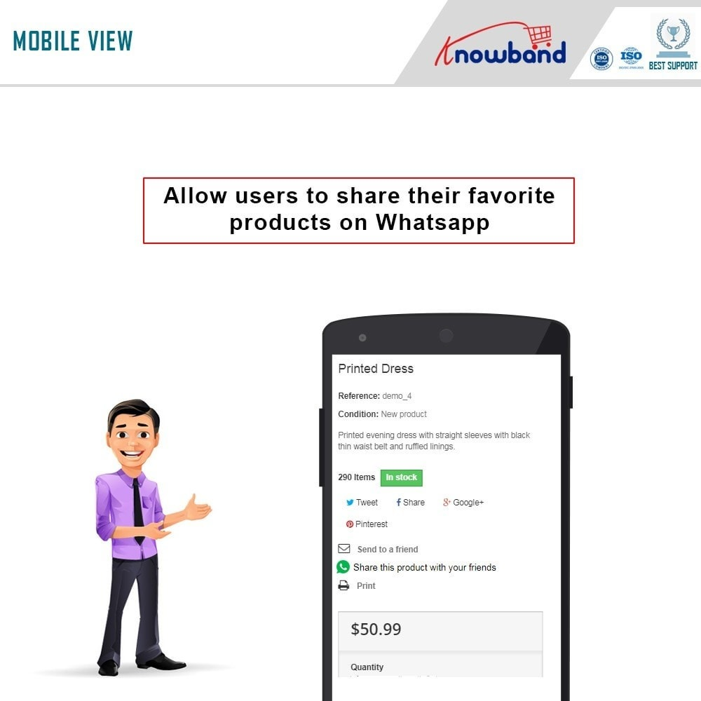 module - Share Buttons & Comments - Knowband - Share with WhatsApp - 2