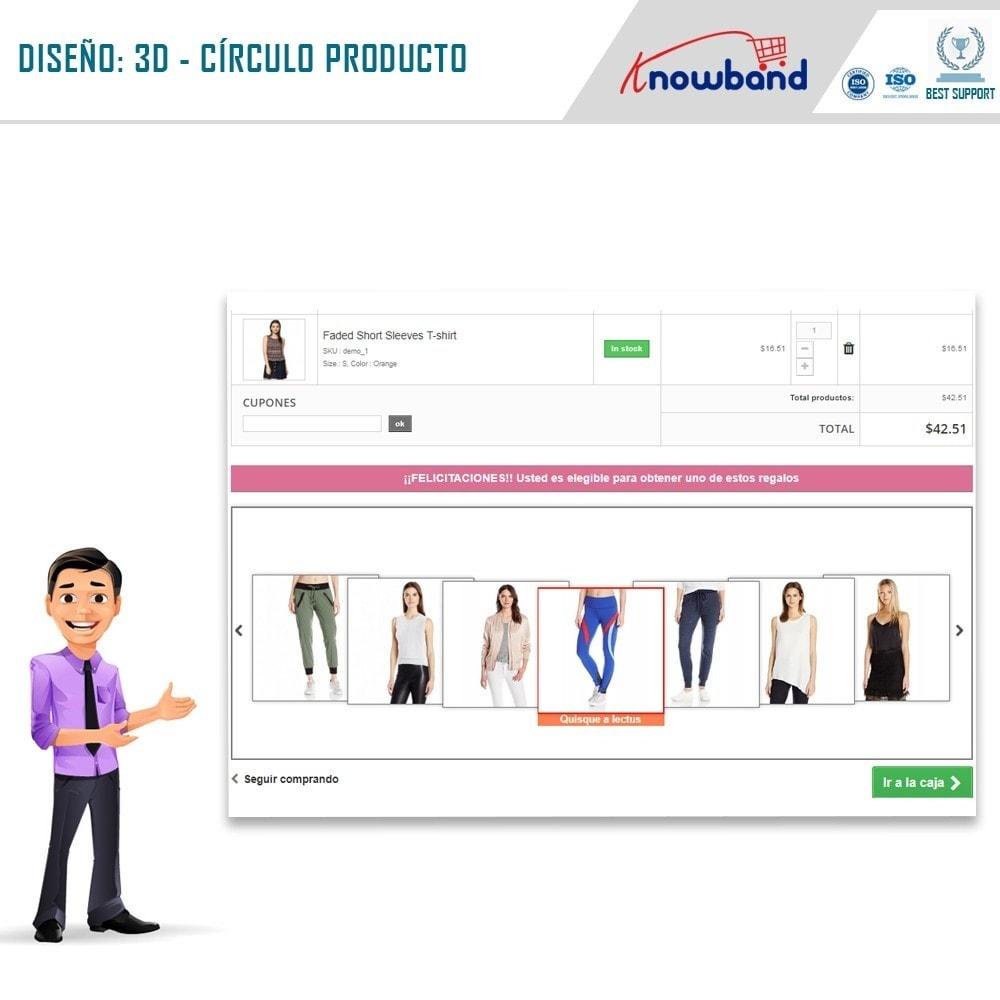 module - Promociones y Regalos - Knowband - Producto regalo - 2