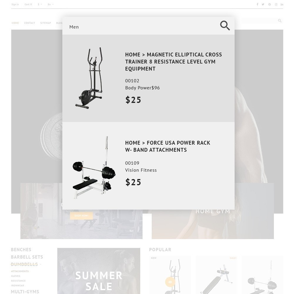 theme - Deportes, Actividades y Viajes - GymHulk - Gym Equipment - 3