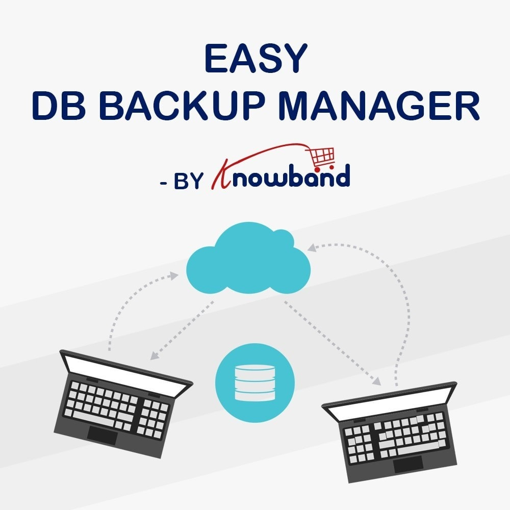 module - Datenmigration & Backup - Knowband - EasyDB Backup Manager - 1