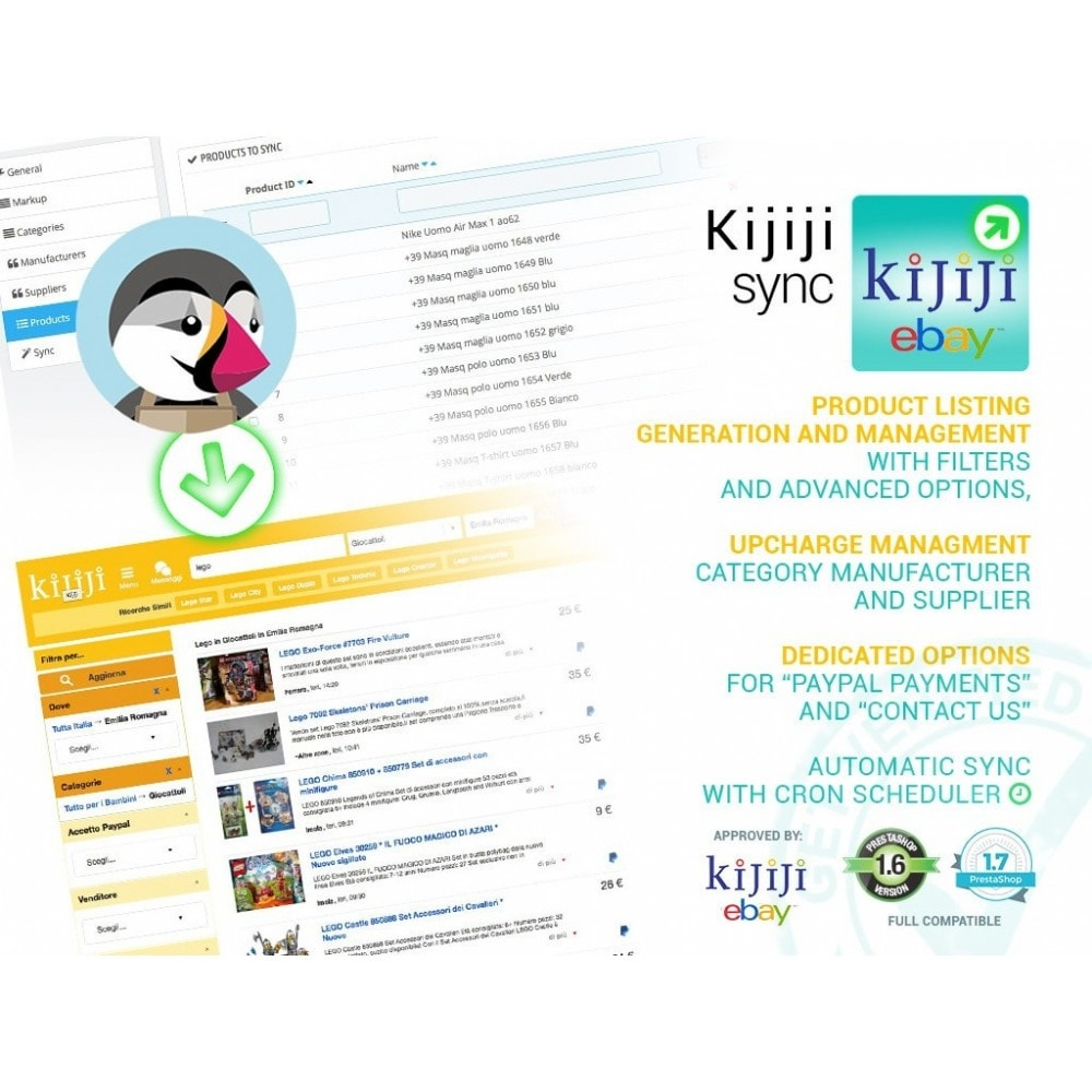 module - Marketplaces - Sync Prestashop to Kijiji - 1