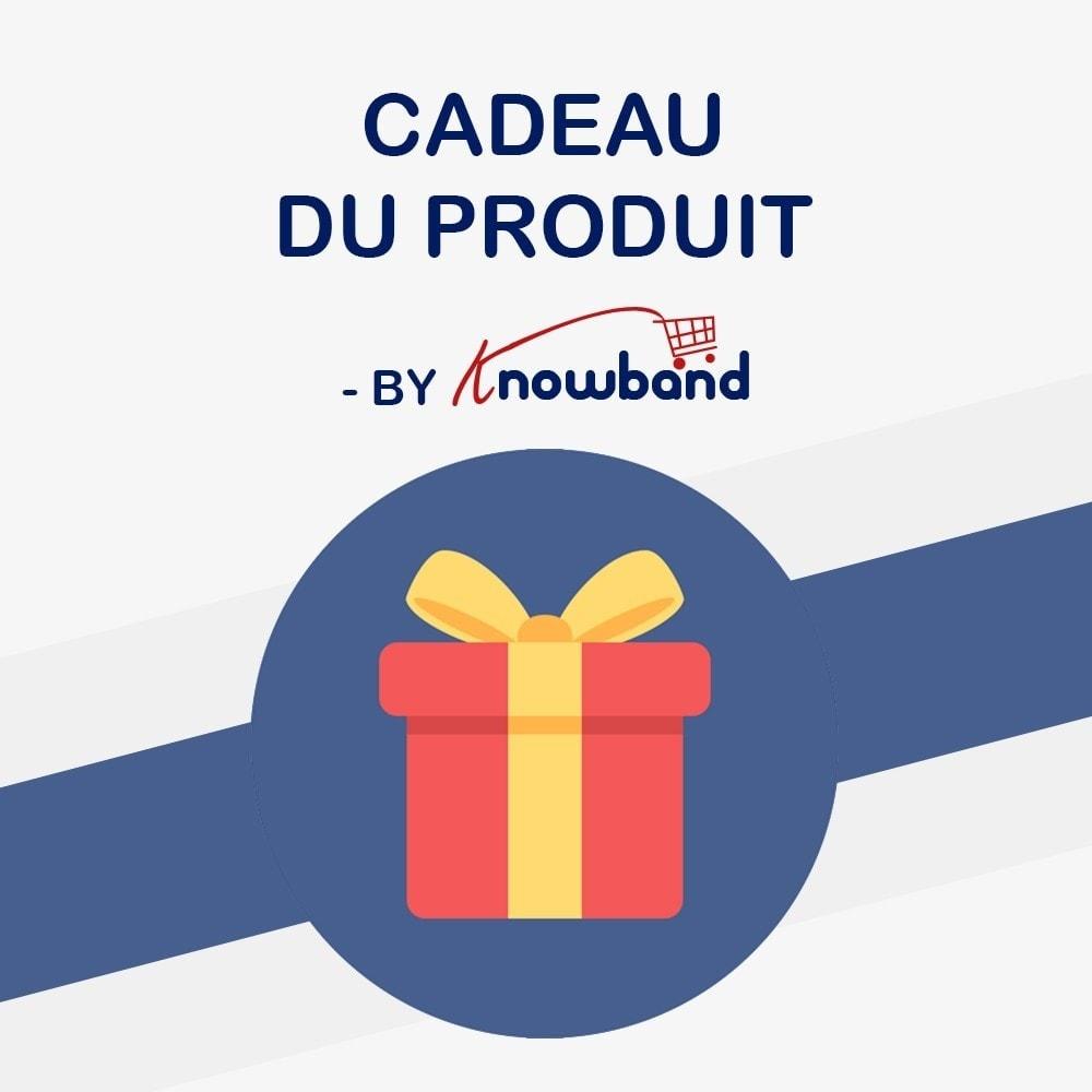 module - Promotions & Cadeaux - Knowband - Produits Cadeaux - 1