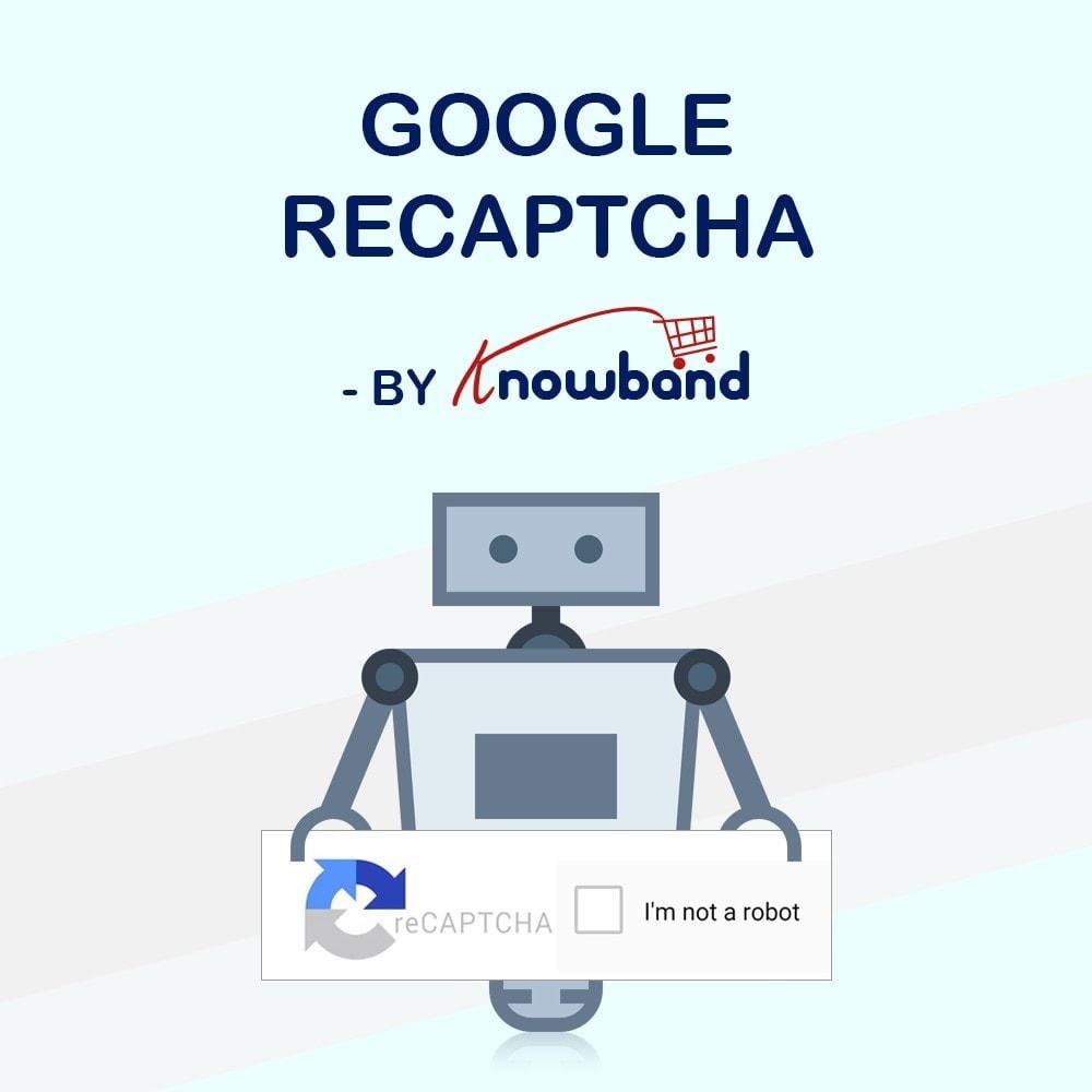 bundle - Seguridad y Accesos - Security Pack - reCaptcha, Private Shop, Block Spam - 1