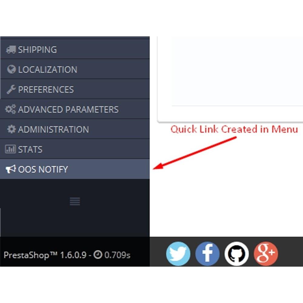 module - E-mails & Notifications - Notification de stock - 6
