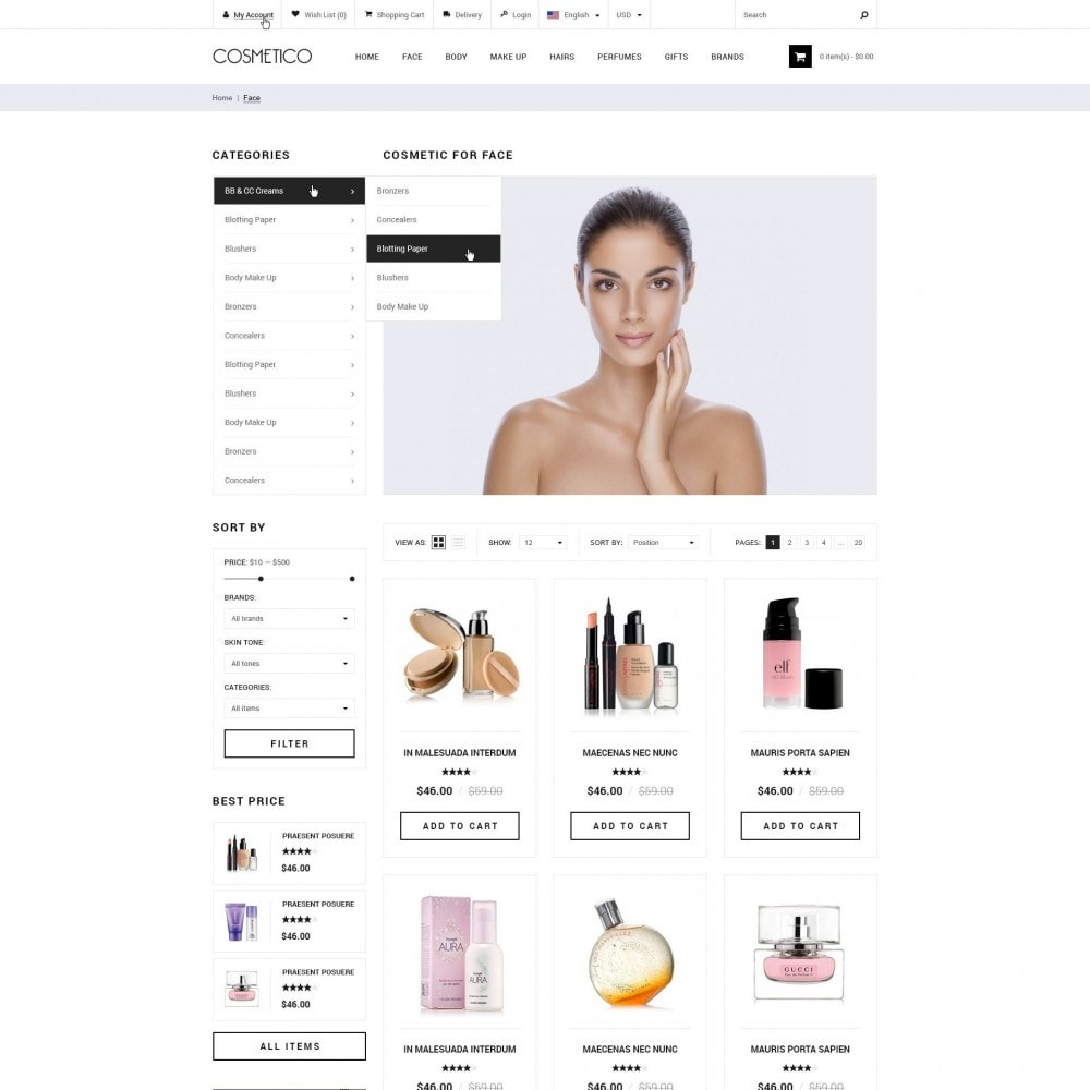 theme - Health & Beauty - Cosmetic Boutique - 3