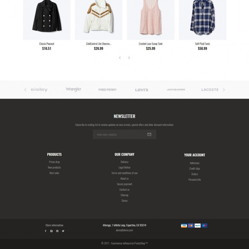 theme - Мода и обувь - Alterego Fashion Store - 5