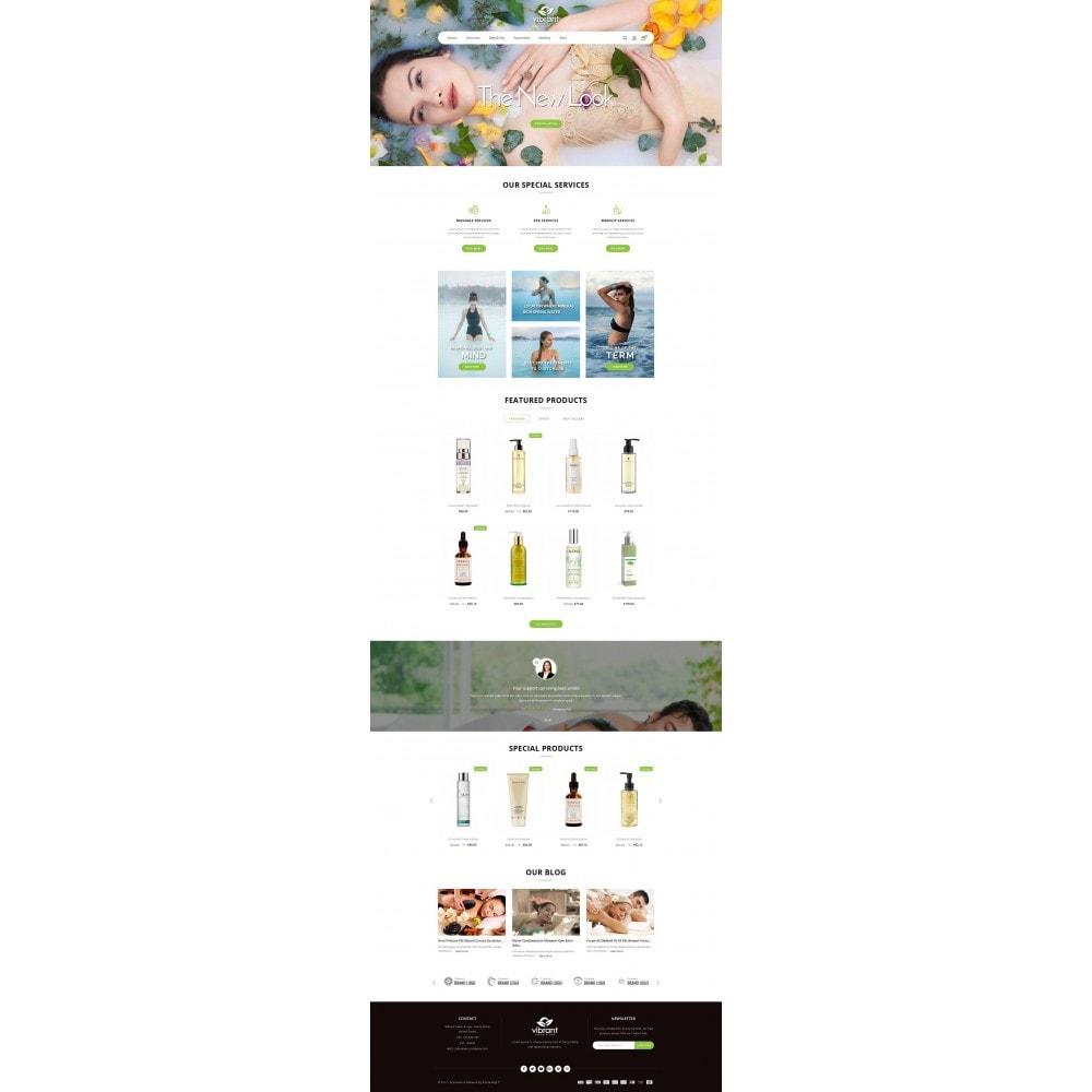 theme - Gezondheid & Schoonheid - Vibrant Salon & Spa Store - 2