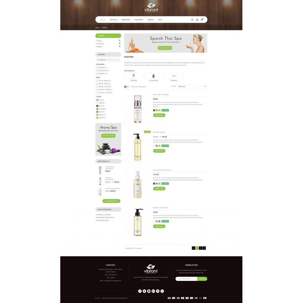 theme - Gesundheit & Schönheit - Vibrant Salon & Spa Store - 4