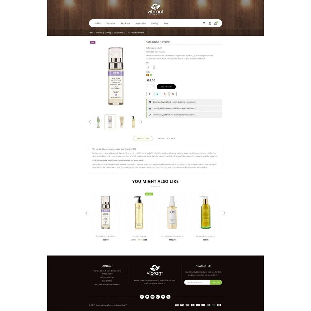 theme - Gesundheit & Schönheit - Vibrant Salon & Spa Store - 5