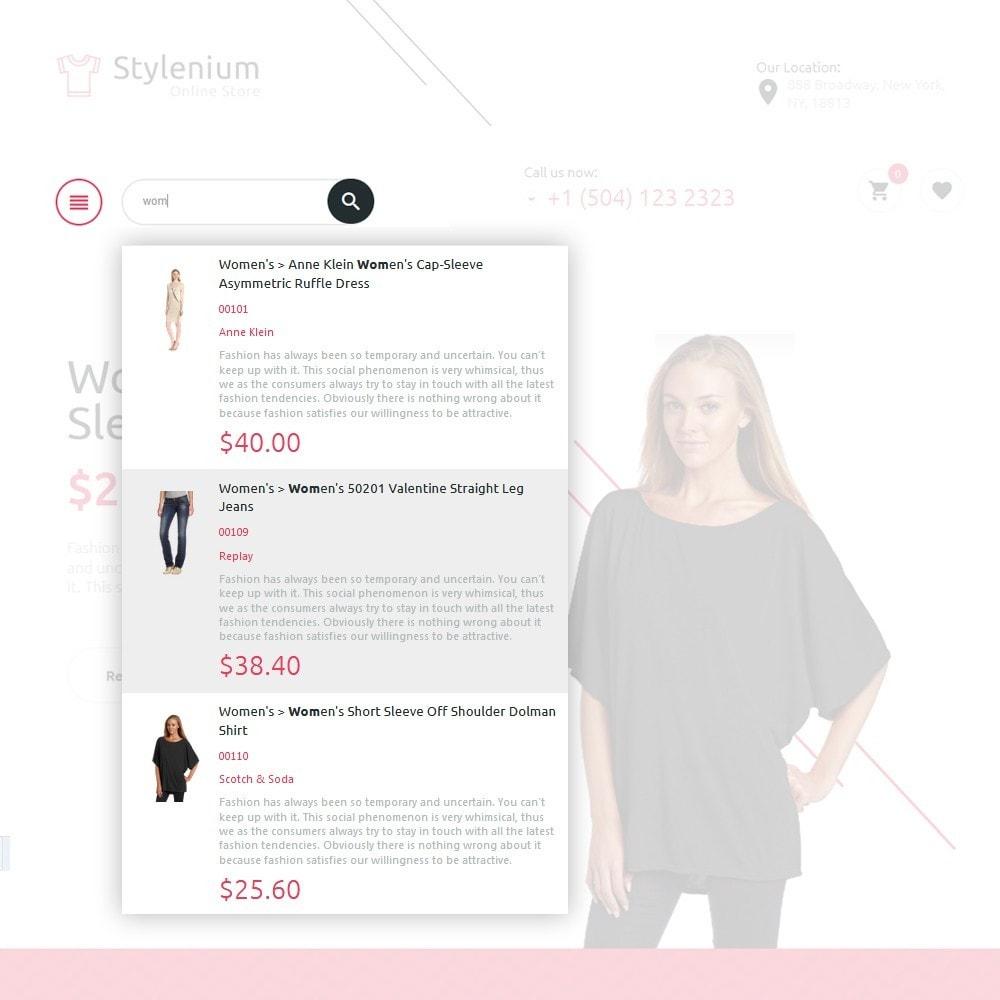 theme - Mode & Chaussures - Stylenium - Boutique de mode thème PrestaShop adaptatif - 5