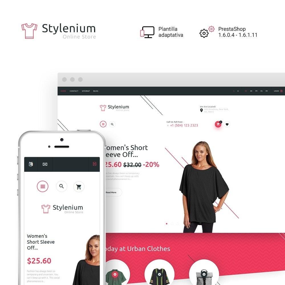 theme - Moda y Calzado - Stylenium - Tema de PrestaShop para Sitio de Ropa - 2