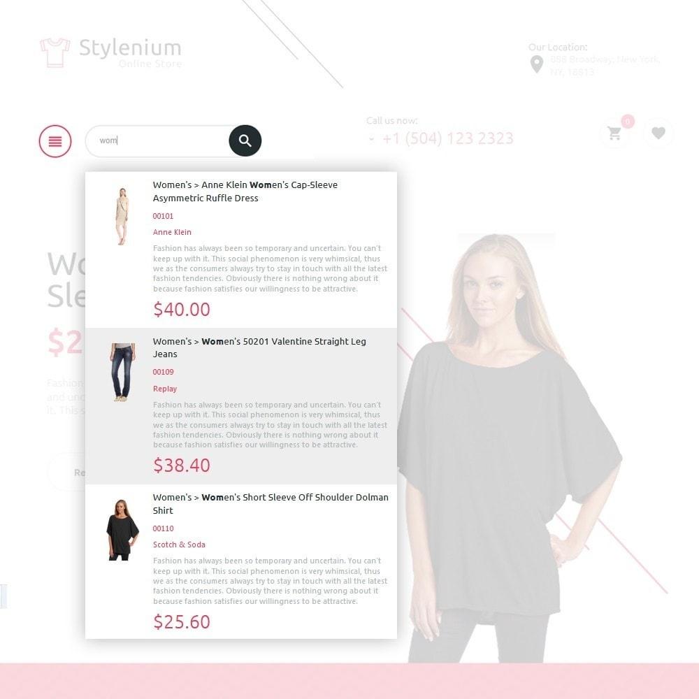 theme - Moda y Calzado - Stylenium - Tema de PrestaShop para Sitio de Ropa - 5